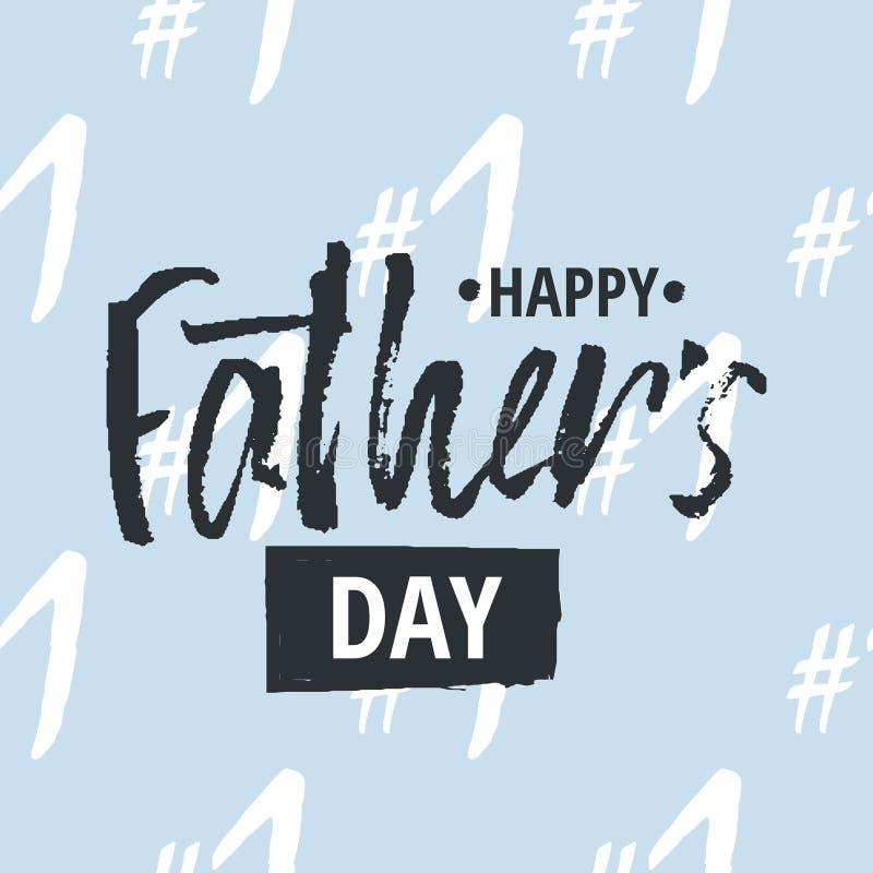 Fondo Feliz Del Diseño Del Día Del Padre S Diseño De Letras Tarjeta ...