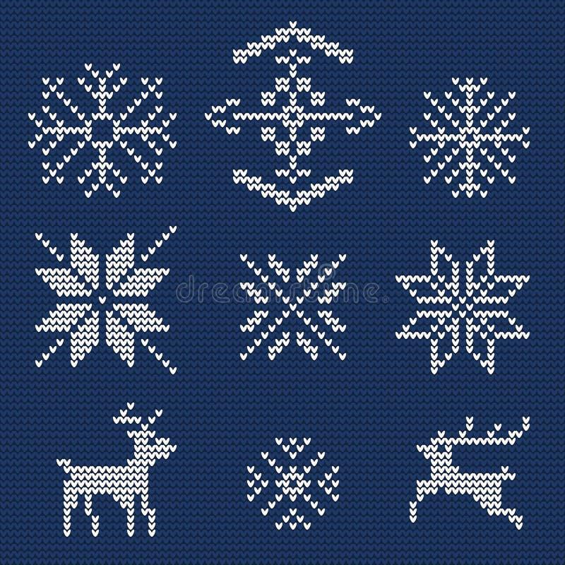 Fondo feo 1 del suéter stock de ilustración