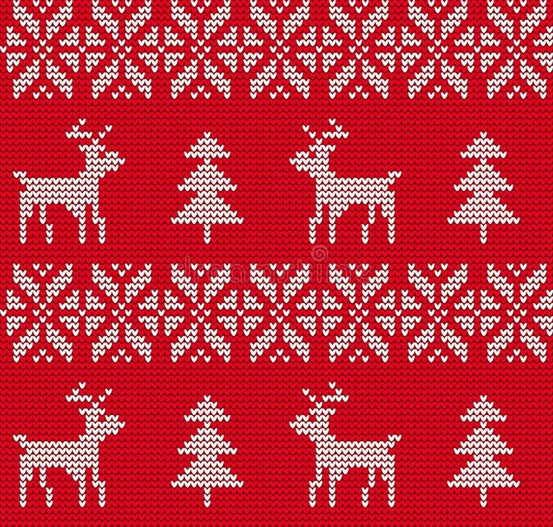 Fondo feo del suéter stock de ilustración