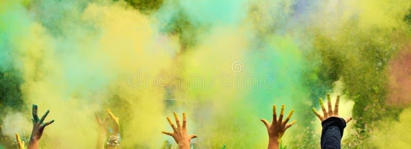 Fondo Festival di Holi immagini stock libere da diritti