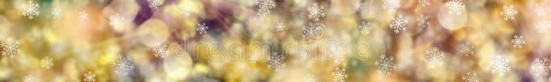 Fondo festivo de la Navidad bandera fotografía de archivo libre de regalías