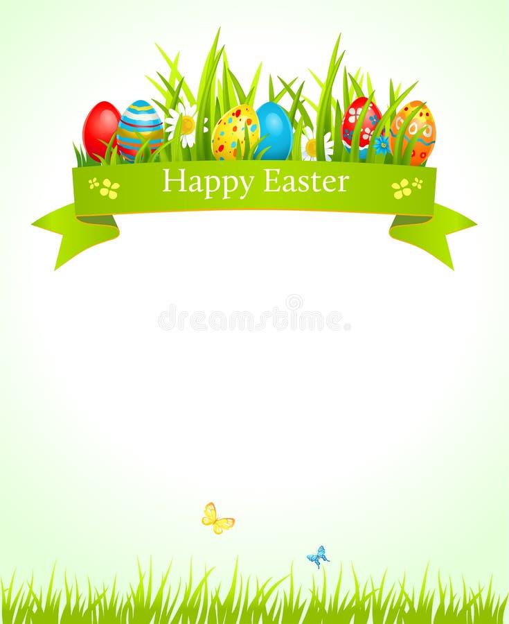 Fondo festivo de Pascua libre illustration