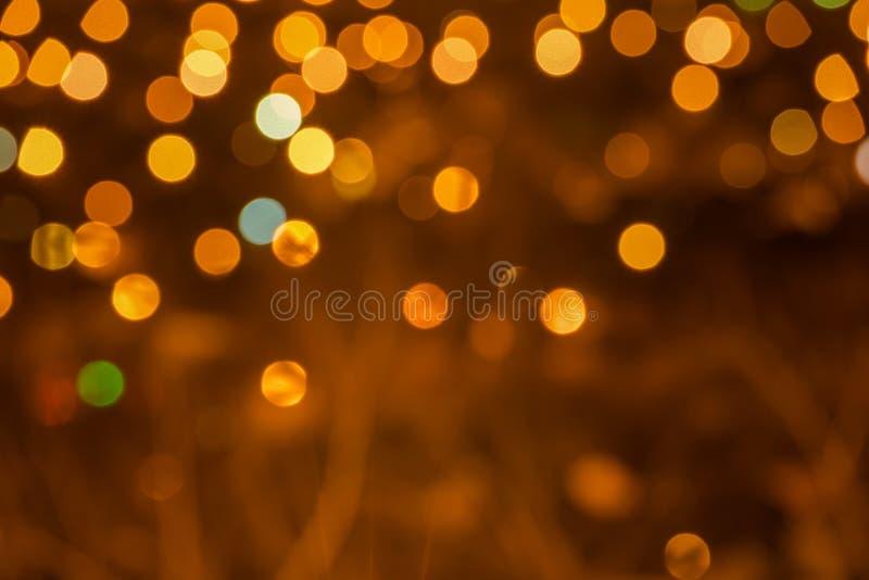 fondo festivo del bokeh circular, luces de la ciudad fotografía de archivo libre de regalías