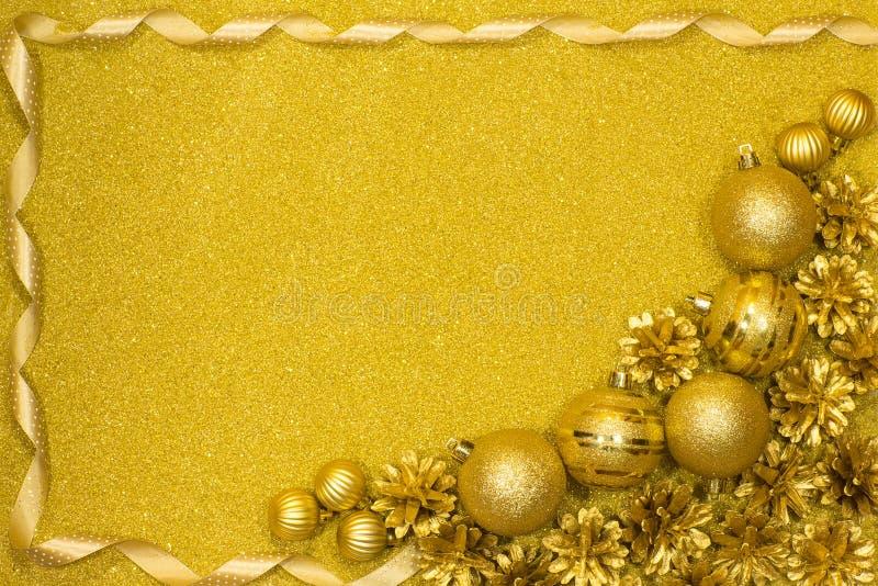 Fondo festivo del buon anno e di Buon Natale fotografia stock