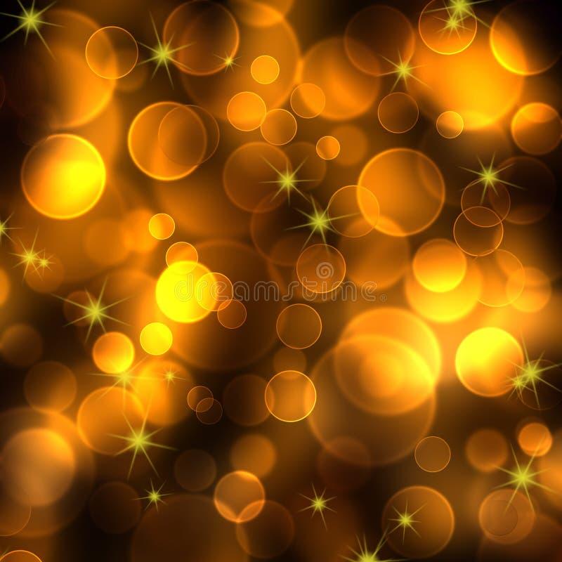 Fondo festivo dell'oro astratto royalty illustrazione gratis