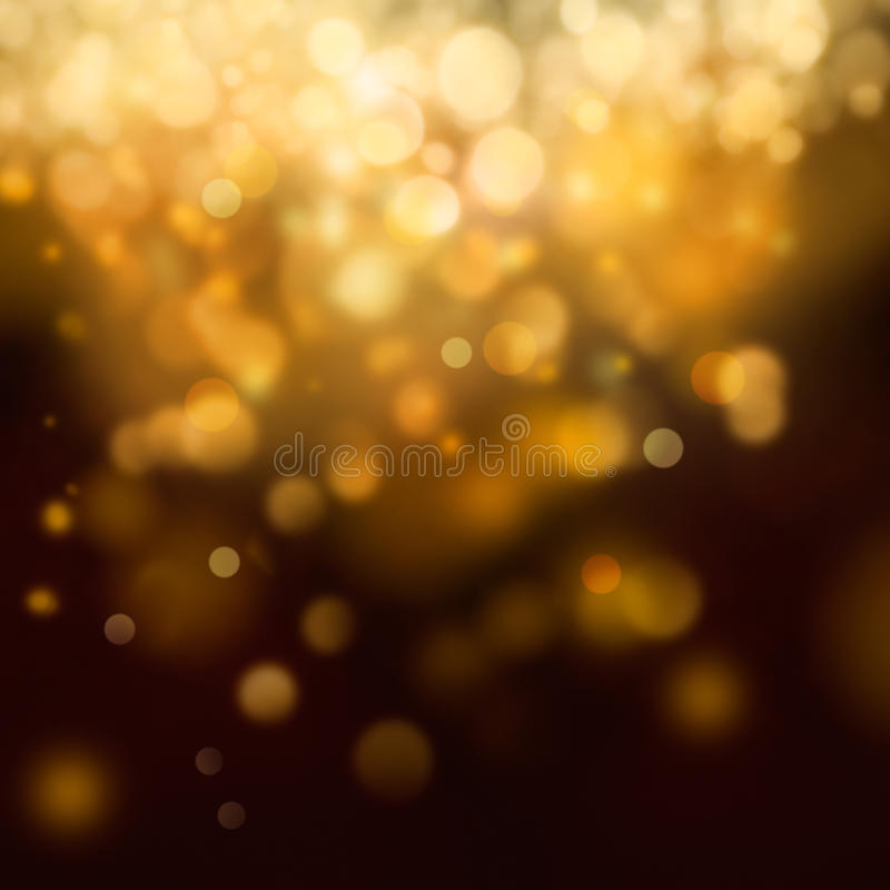 Fondo festivo di Natale dell'oro illustrazione vettoriale