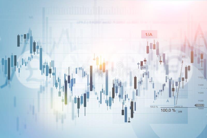 Fondo financiero del concepto imagen de archivo