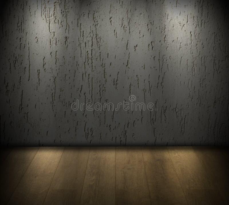 Sitio oscuro ilustración del vector