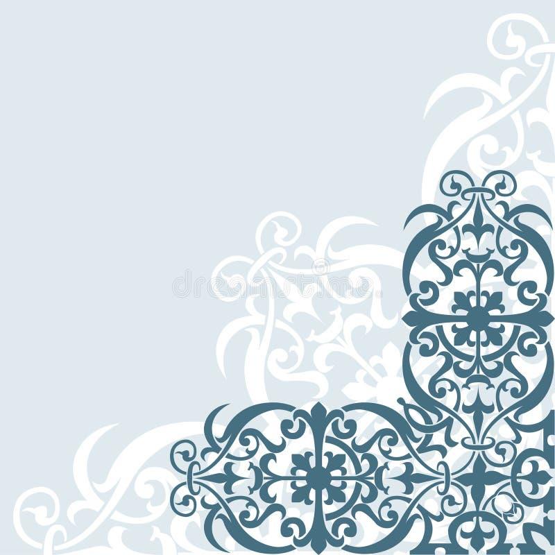 Download Fondo floral ilustración del vector. Ilustración de curva - 1300002