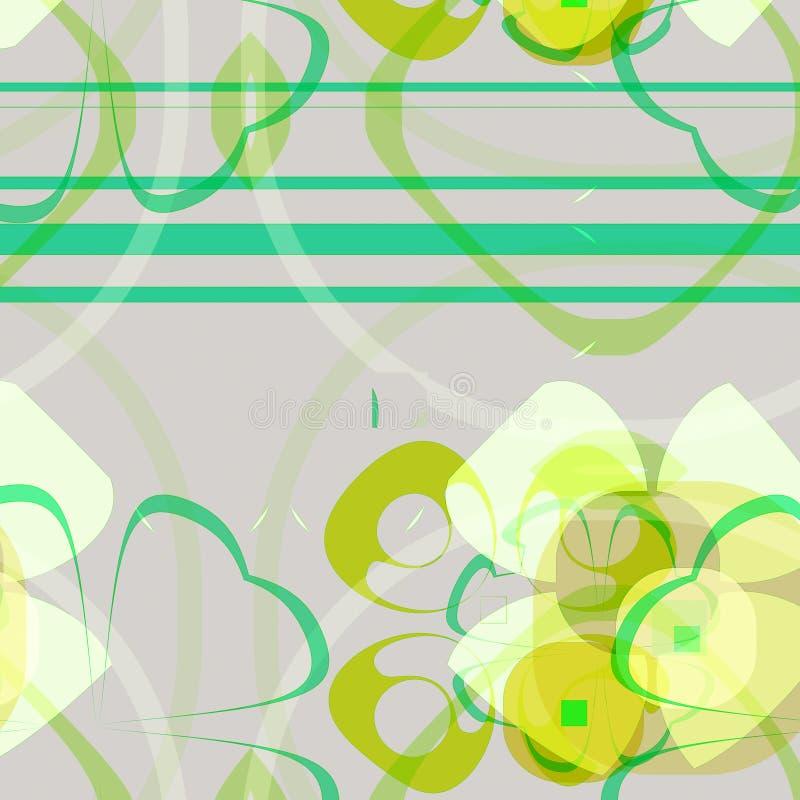 Download Fondo floral stock de ilustración. Ilustración de shapes - 7279727