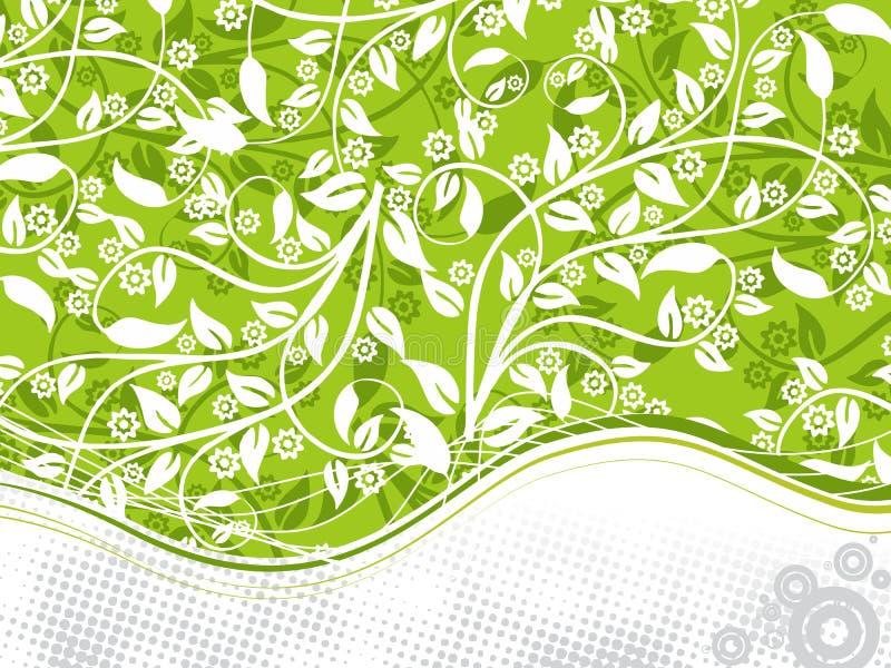 Fondo floral abstracto libre illustration
