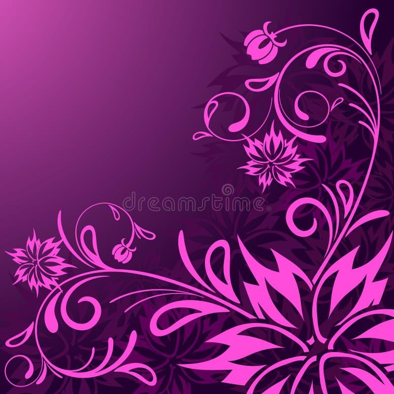 Download Fondo floral abstracto ilustración del vector. Ilustración de arte - 7284918