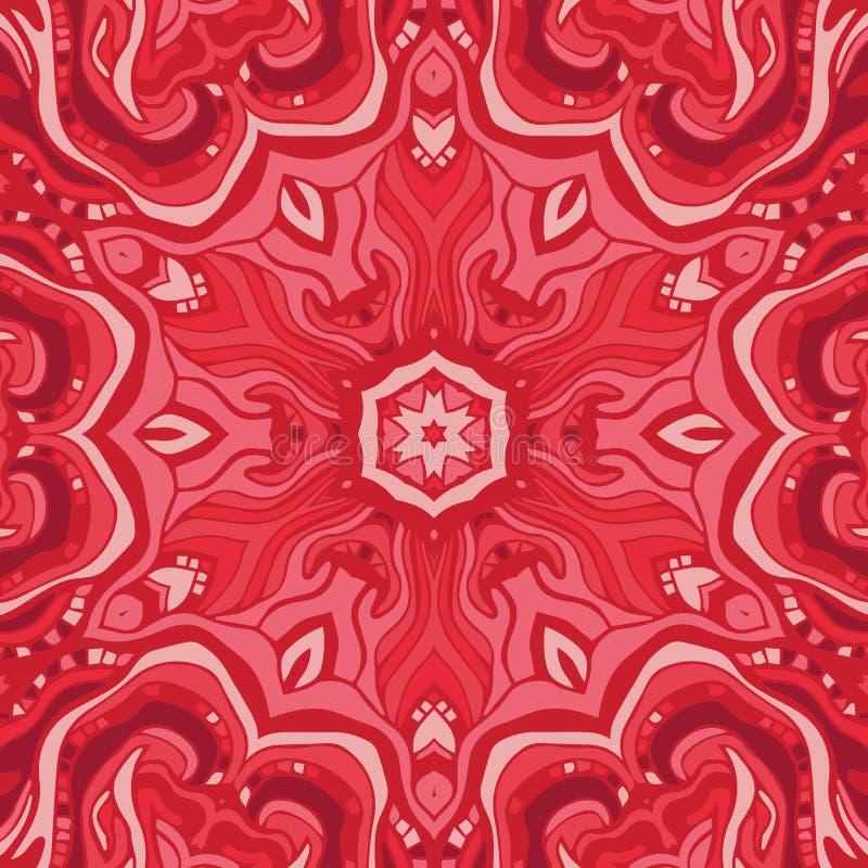 Fondo floral abstracto del vector stock de ilustración