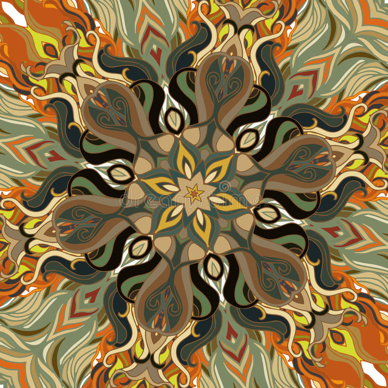 Fondo floral abstracto del vector libre illustration