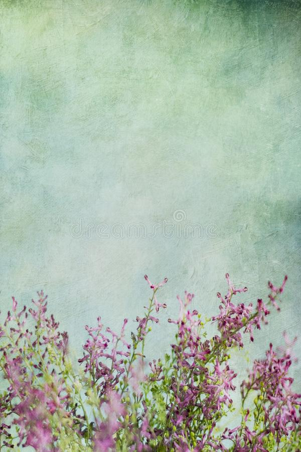 Fondo floral abstracto del vintage imagen de archivo