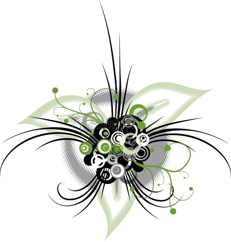 Fondo floral abstracto, vector ilustración del vector