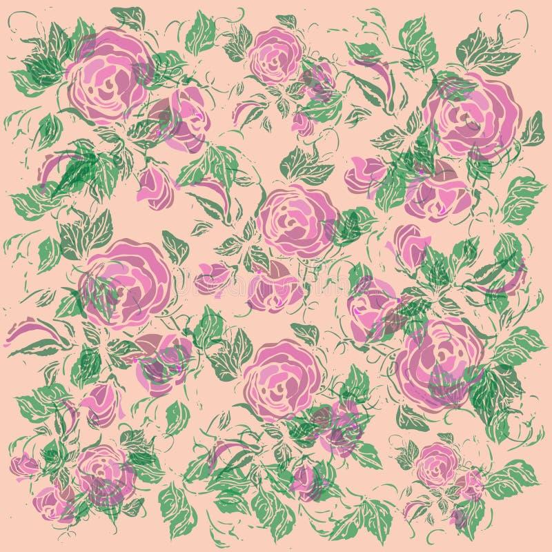 Fondo floral del ejemplo Vector abstracto ilustración del vector