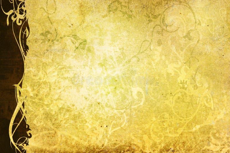 Fondo floral del estilo stock de ilustración