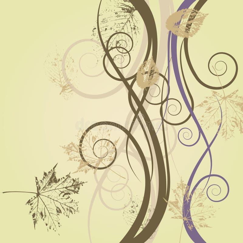 Fondo floral del gráfico del arte ilustración del vector