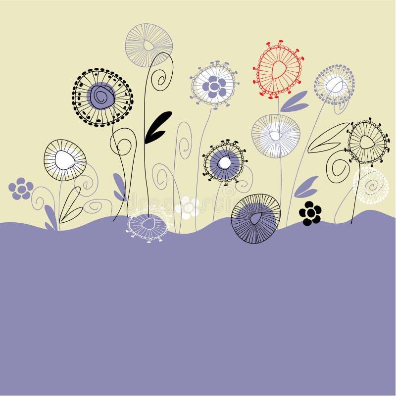 Fondo floral del gráfico del gráfico del arte libre illustration