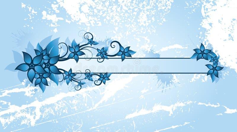 Fondo floral del invierno ilustración del vector