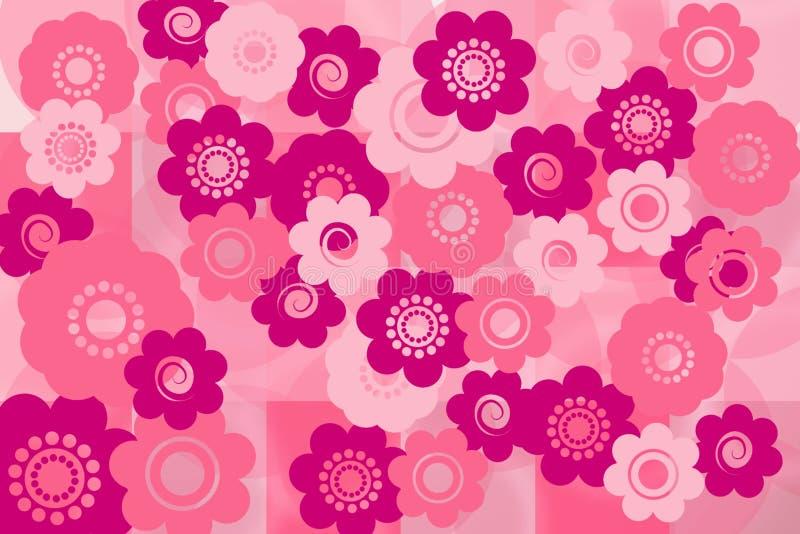 Fondo floral del verano libre illustration
