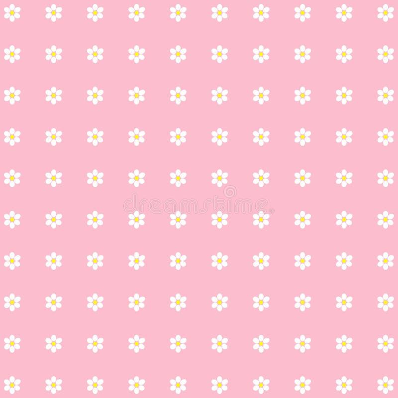 Fondo floral ditsy hermoso ilustración del vector