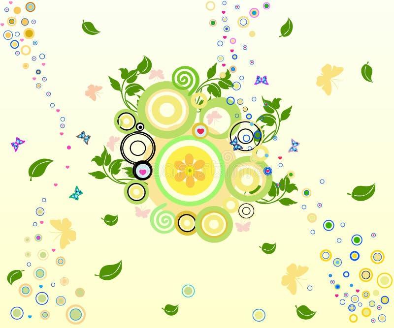 Fondo floral - ilustración del vector ilustración del vector