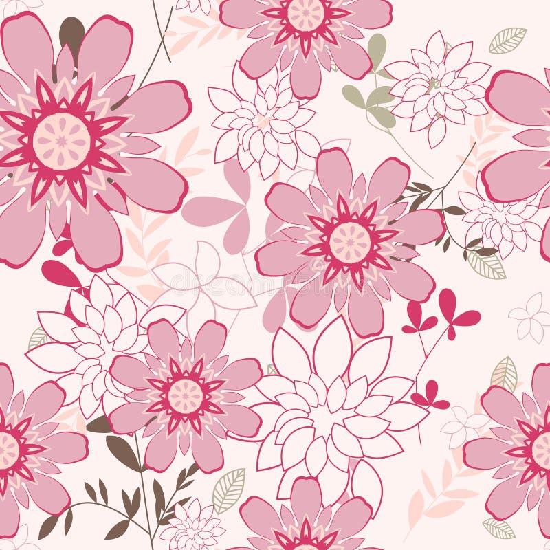 Fondo floral inconsútil libre illustration