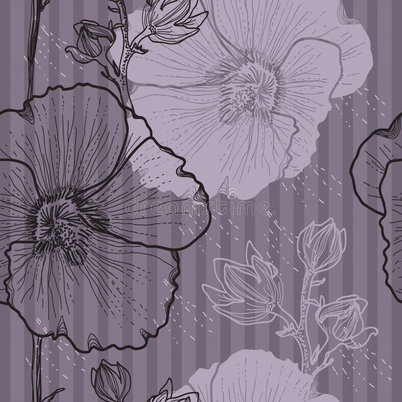 Fondo Floral Inconsútil Fotos de archivo libres de regalías