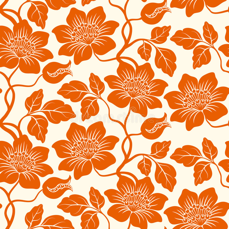 Fondo floral inconsútil. libre illustration