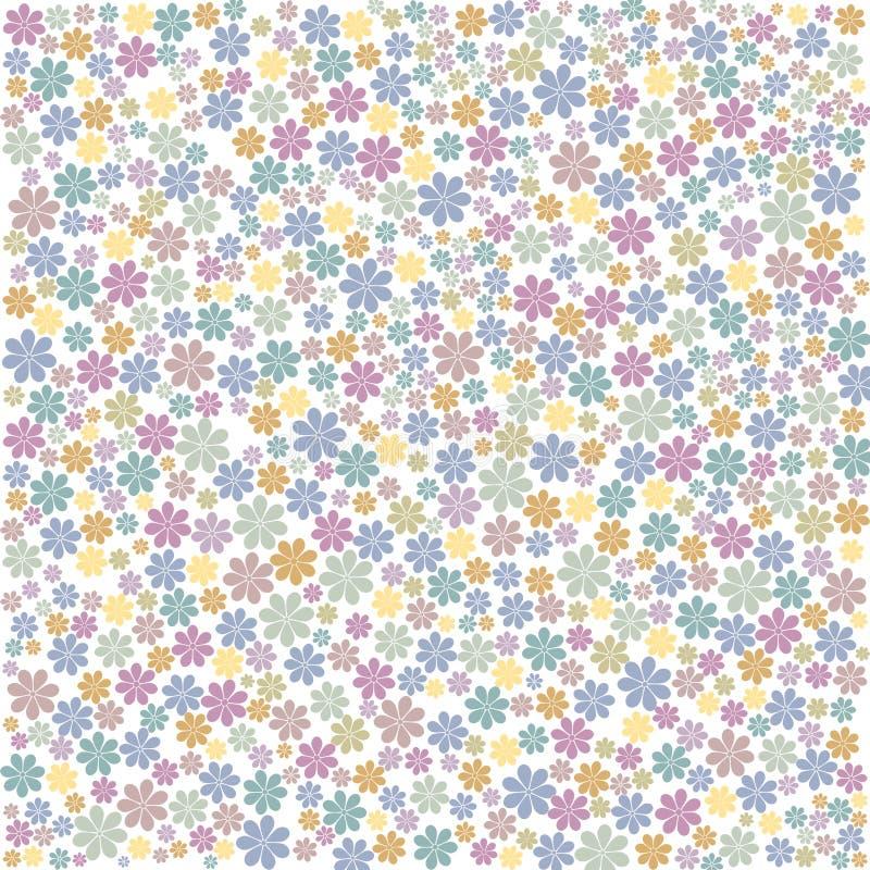 Fondo floral multicolor fotografía de archivo libre de regalías