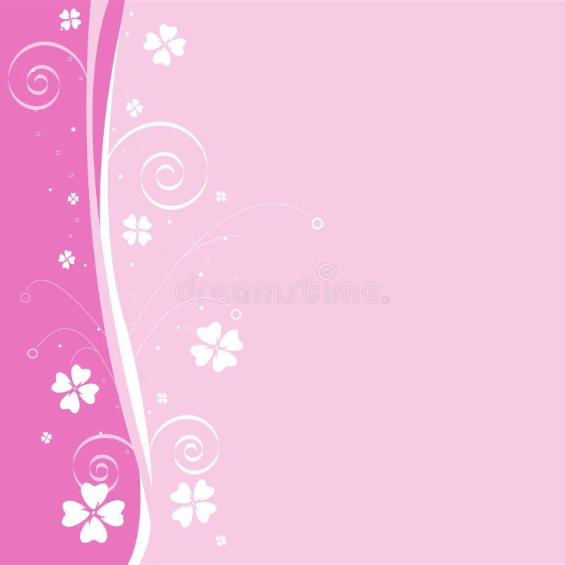 Download Fondo floral rosado ilustración del vector. Ilustración de diseño - 7275497