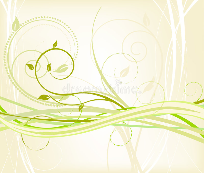 Fondo floral - vector ilustración del vector