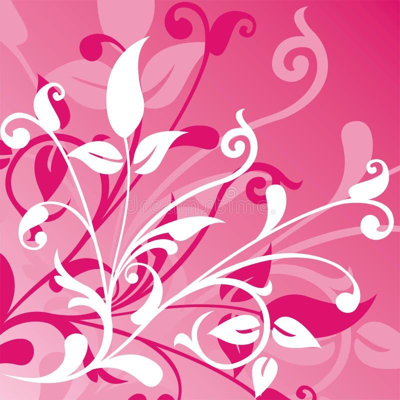 Fondo floral, vector ilustración del vector