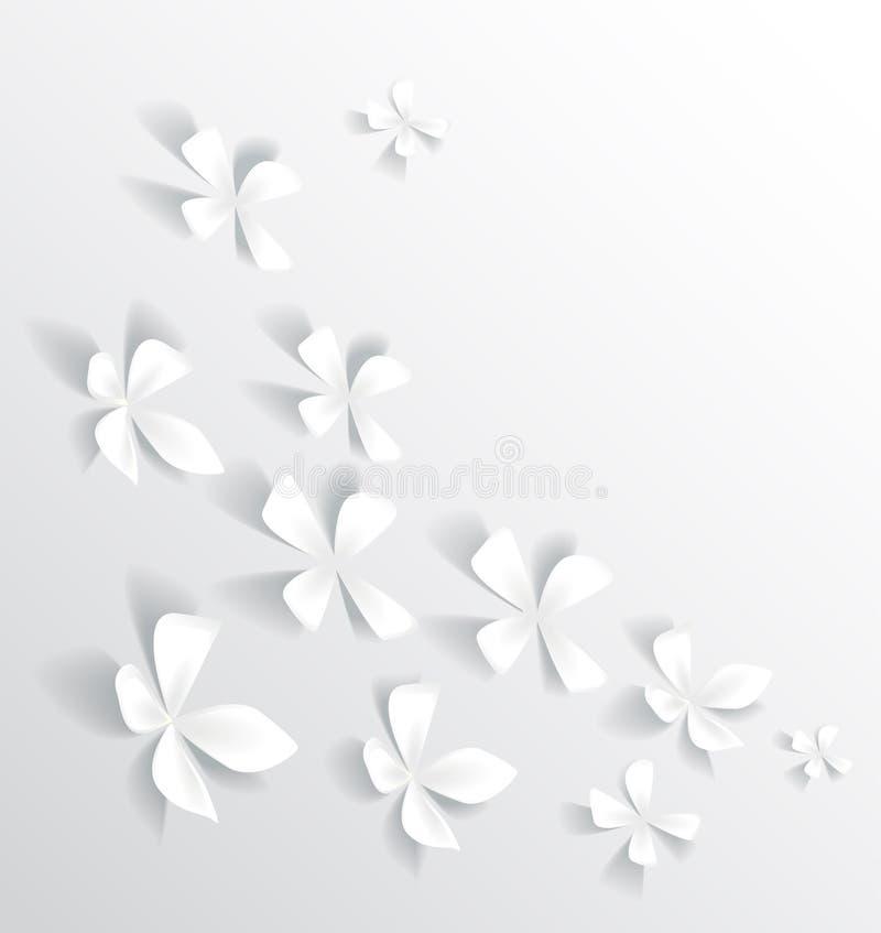Fondo floreale illustrazione di stock