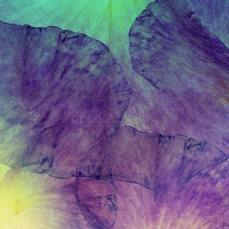 Fondo floreale del batik di lerciume di arte Colori pastelli di Stylization, acquerelli Contesto strutturato d'annata con il rosa immagini stock