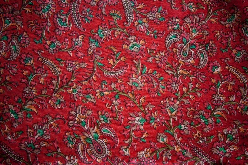 Seta floreale dell India dell annata