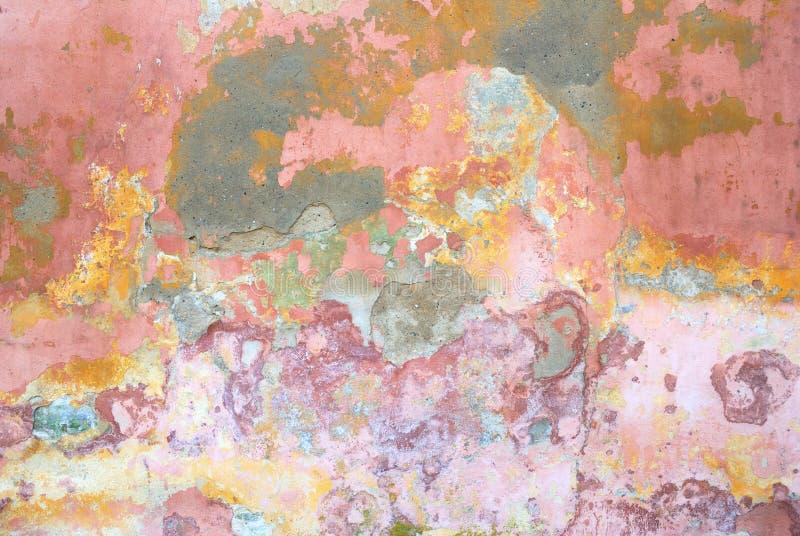 Fondo formado escamas colorido del extracto de la textura de la pared foto de archivo libre de regalías