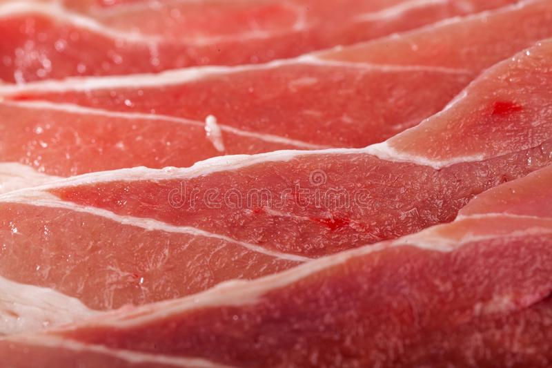 Fondo fresco de la carne sin procesar imagen de archivo libre de regalías