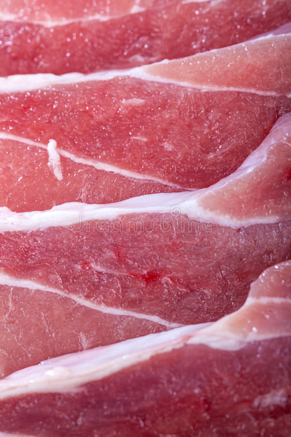 Fondo fresco de la carne sin procesar fotografía de archivo