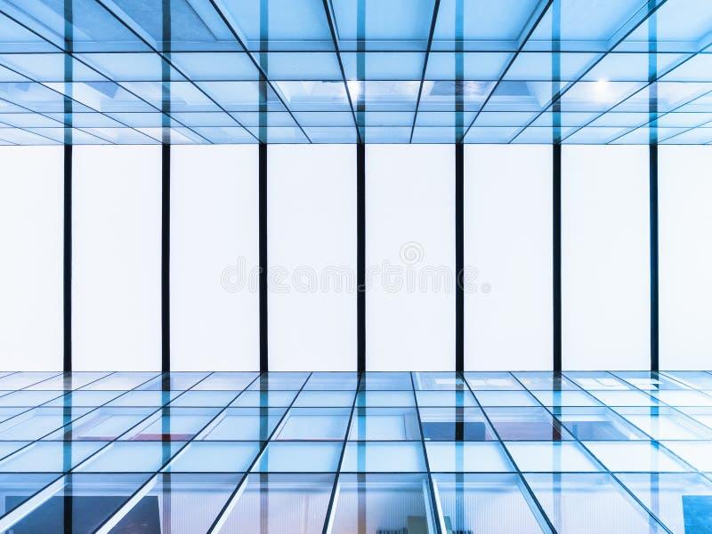 Fondo futurista constructivo moderno del tejado de cristal del detalle de la arquitectura imagen de archivo