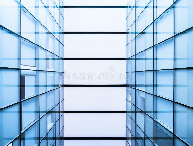 Fondo futurista constructivo moderno del tejado de cristal del detalle de la arquitectura foto de archivo