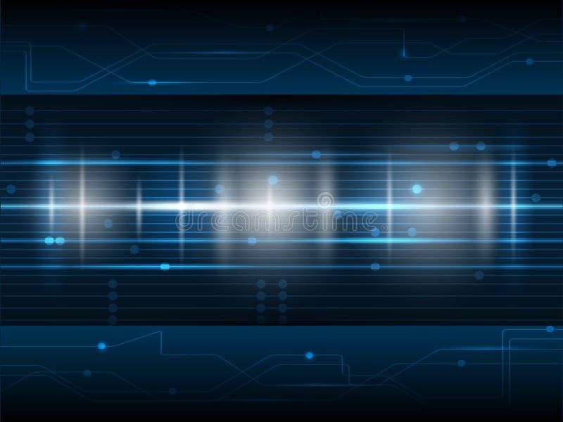Fondo futuro de la tecnología digital libre illustration
