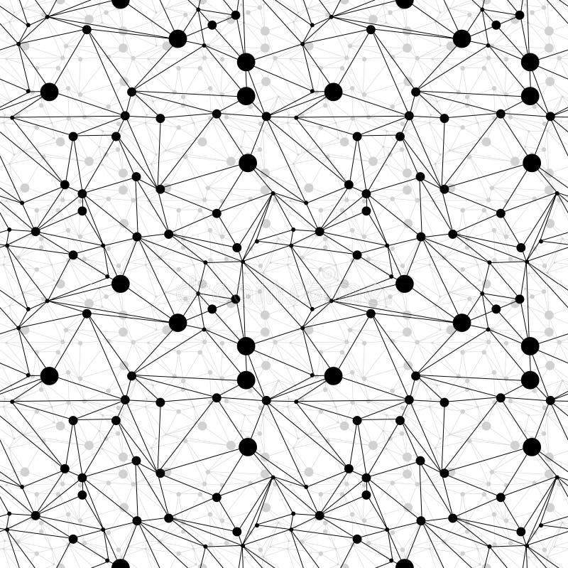 Fondo geométrico abstracto ilustración del vector