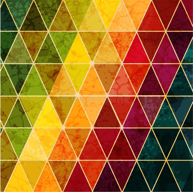 Fondo geométrico abstracto colorido libre illustration