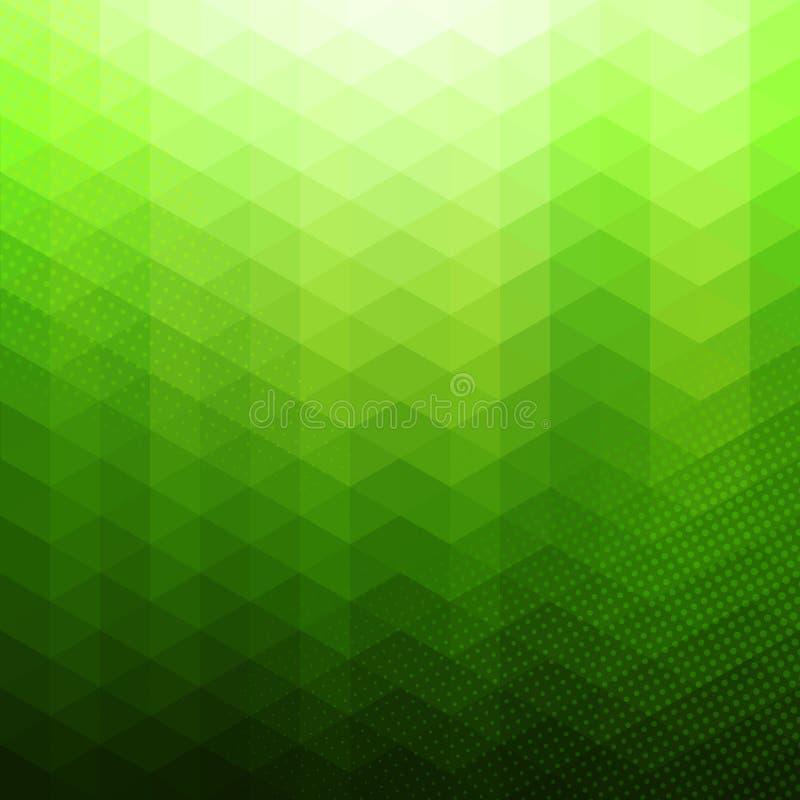 Fondo geométrico abstracto colorido del vector libre illustration