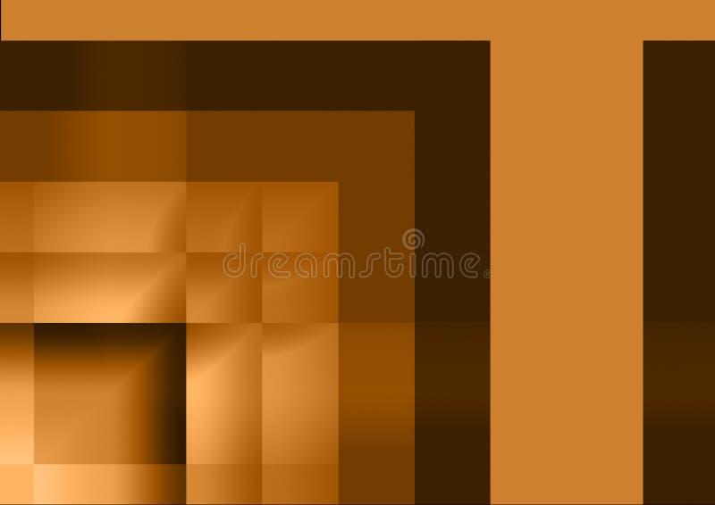 Fondo geométrico abstracto colorido para el diseño del arte stock de ilustración