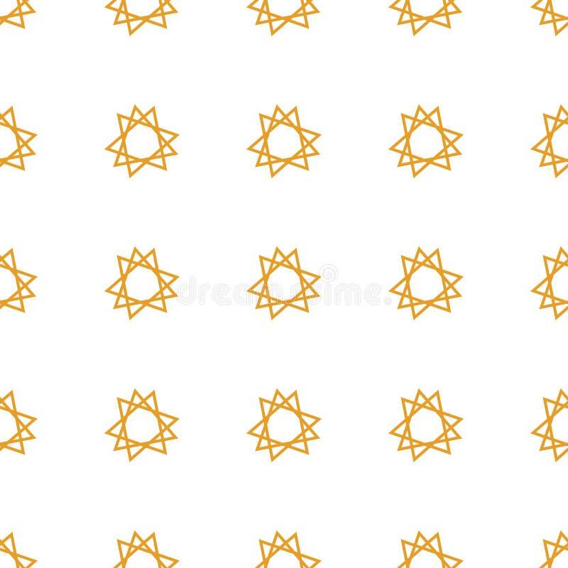 Fondo geométrico abstracto con la forma del modelo Repetición, efecto, arte y plantilla libre illustration