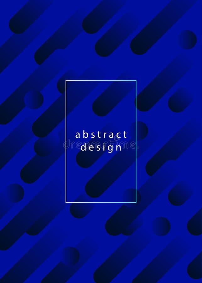 Fondo geométrico abstracto de la pendiente ilustración del vector